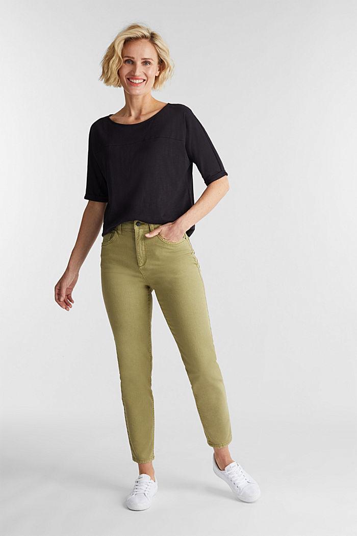 T-shirt 100 % coton biologique, BLACK, detail image number 1