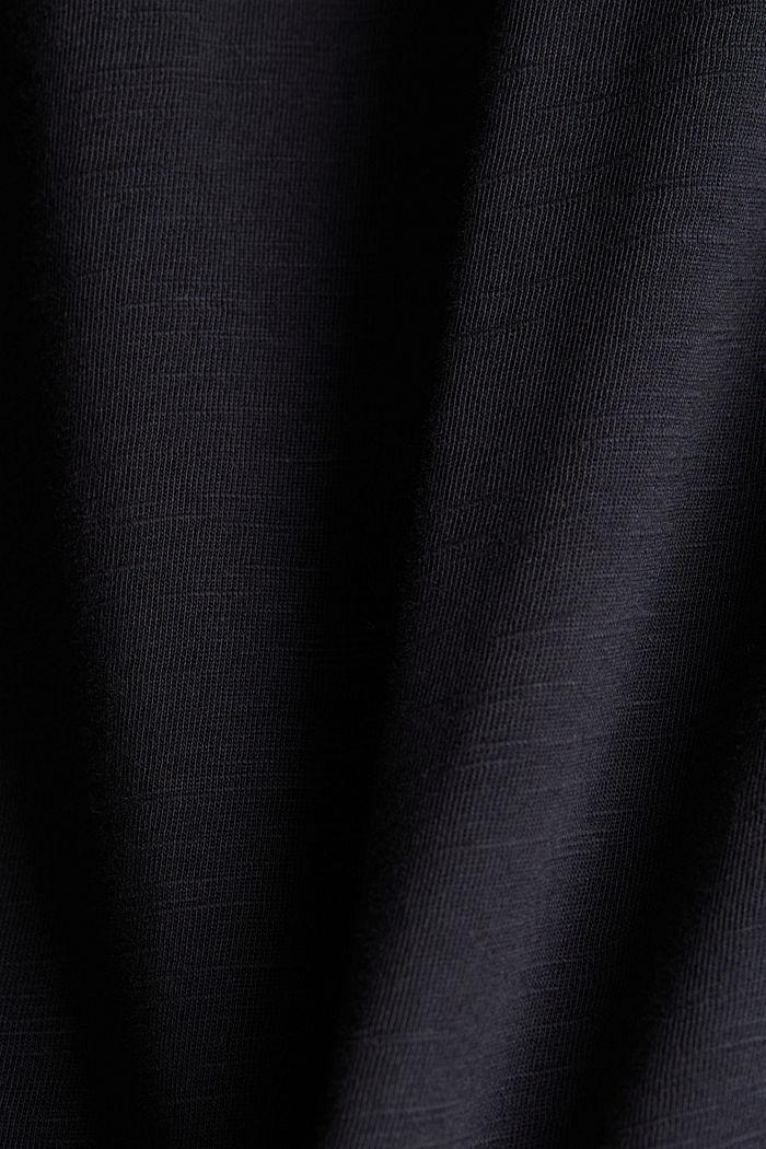 T-shirt 100 % coton biologique, BLACK, detail image number 4