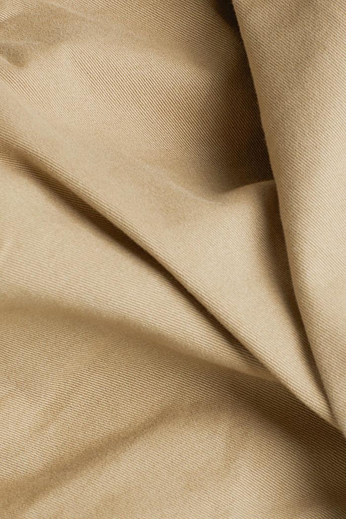 Cargobroek van organic cotton, BEIGE, detail image number 4