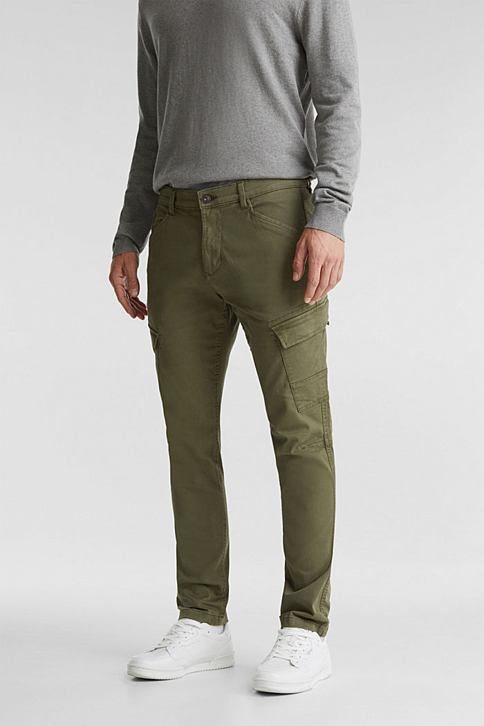 Cargo trousers in organic cotton