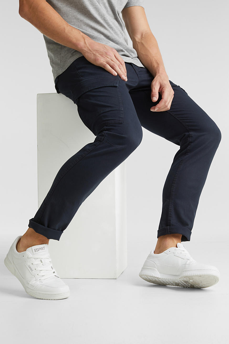 Cargobroek van organic cotton