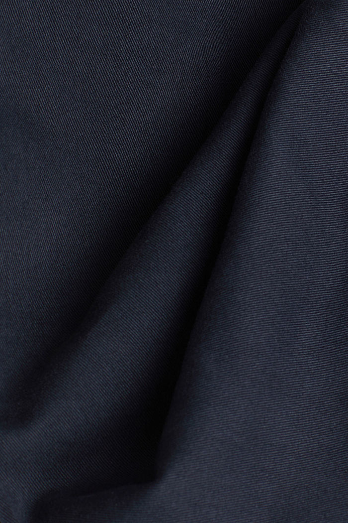 Cargo trousers in organic cotton, DARK BLUE, detail image number 4