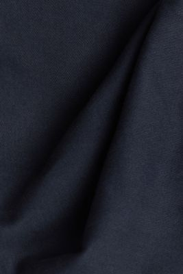 Cargo trousers in organic cotton, DARK BLUE, detail