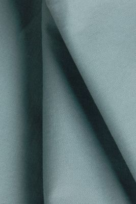 Stretch cotton chinos, TEAL GREEN, detail