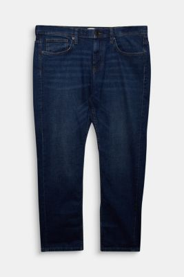 Pants denim Straight fit, BLUE MEDIUM WASHED, detail