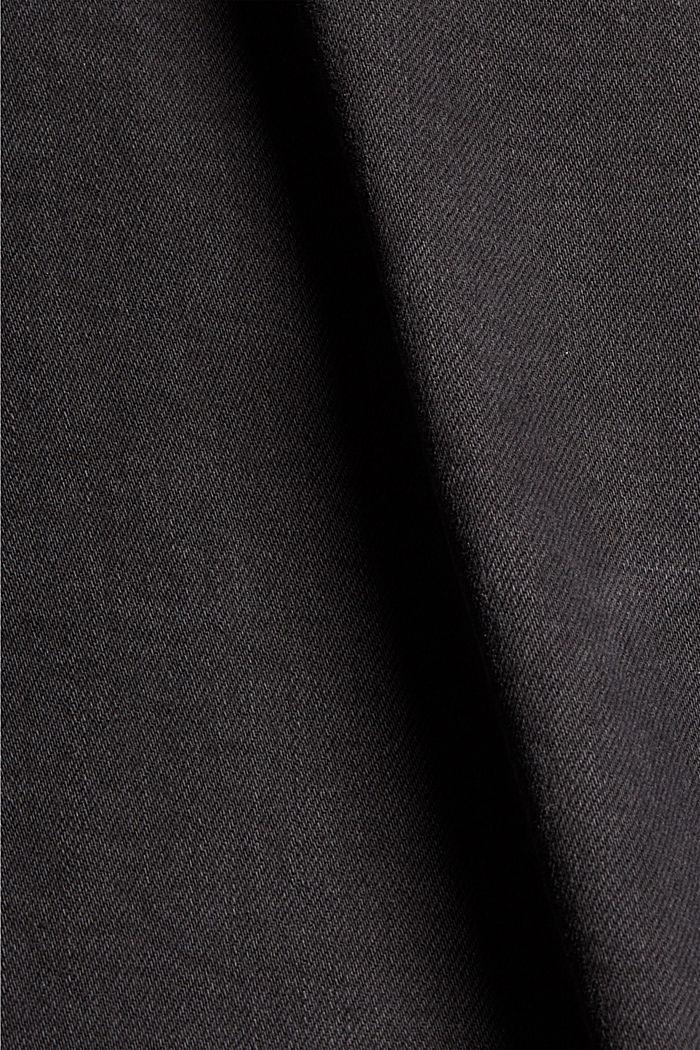 Jean en coton biologique, BLACK DARK WASHED, detail image number 1