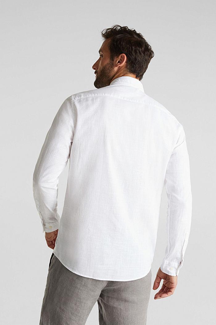 Shirt made of 100% organic cotton, WHITE, detail image number 3