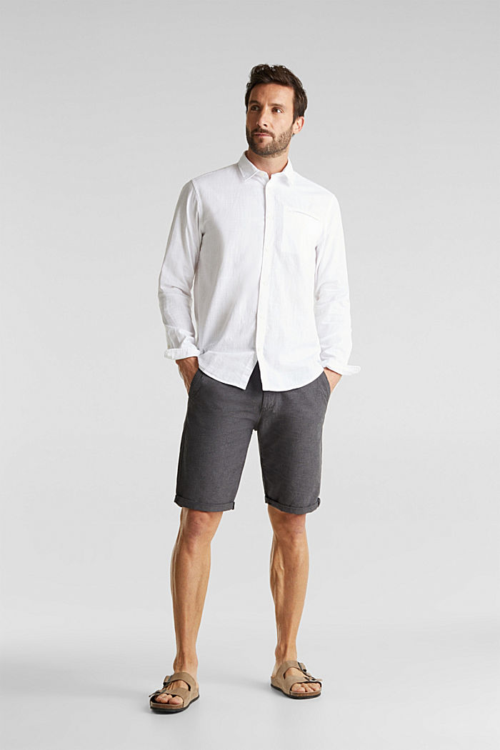 Shirt made of 100% organic cotton, WHITE, detail image number 6