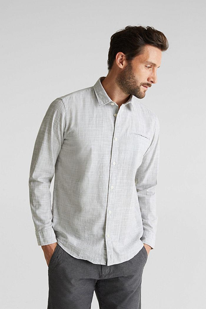 Shirt made of 100% organic cotton, KHAKI GREEN, detail image number 0
