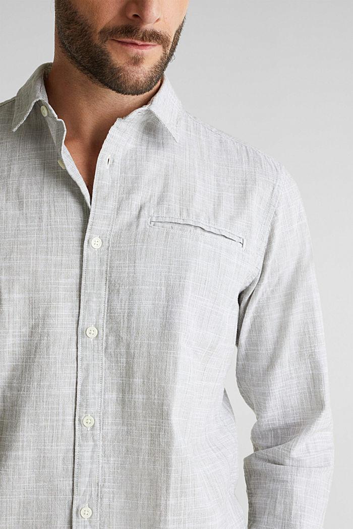 Shirt made of 100% organic cotton, KHAKI GREEN, detail image number 2