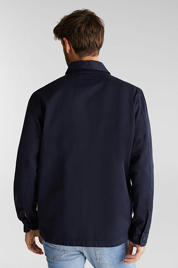 Model přes tričko, ze 100% bio bavlny, NAVY, detail image number 3