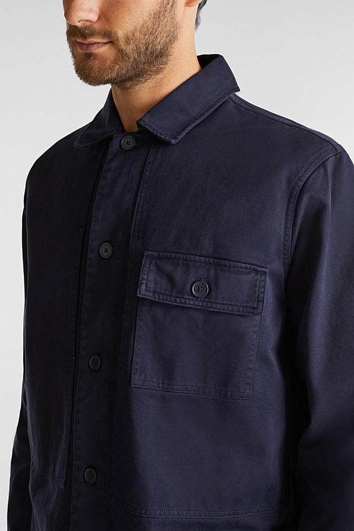 Model přes tričko, ze 100% bio bavlny, NAVY, detail image number 2