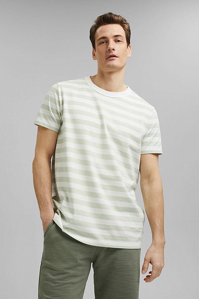 Tričko z žerzeje ze 100% bio bavlny, PASTEL GREEN, detail image number 0