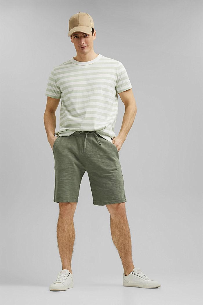 Tričko z žerzeje ze 100% bio bavlny, PASTEL GREEN, detail image number 2