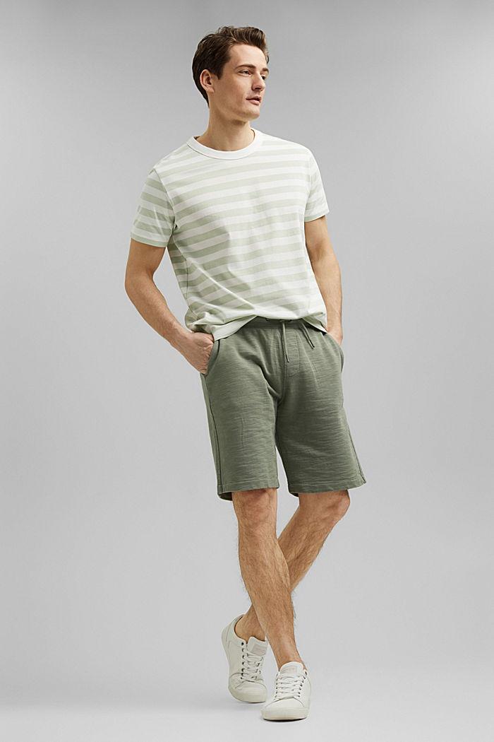 Tričko z žerzeje ze 100% bio bavlny, PASTEL GREEN, detail image number 6