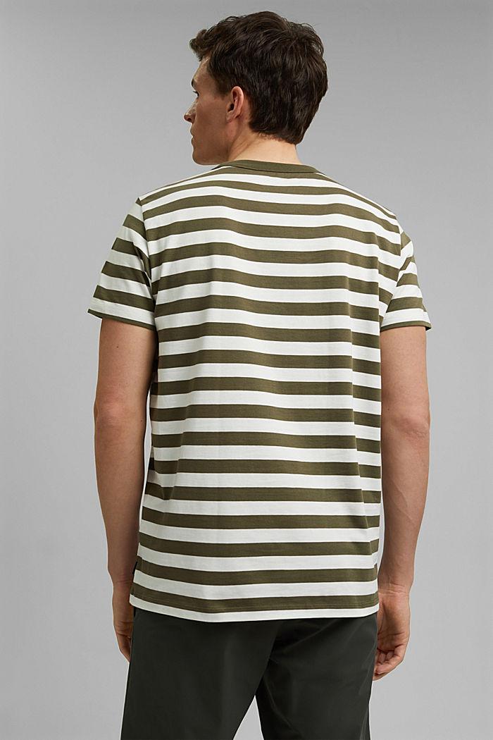 Jersey T-shirt made of 100% organic cotton, DARK KHAKI, detail image number 3