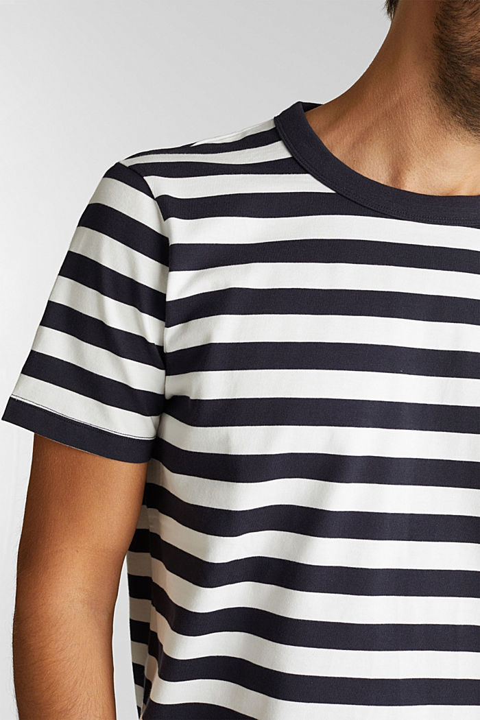 Jersey T-shirt van 100% organic cotton, NAVY, detail image number 1