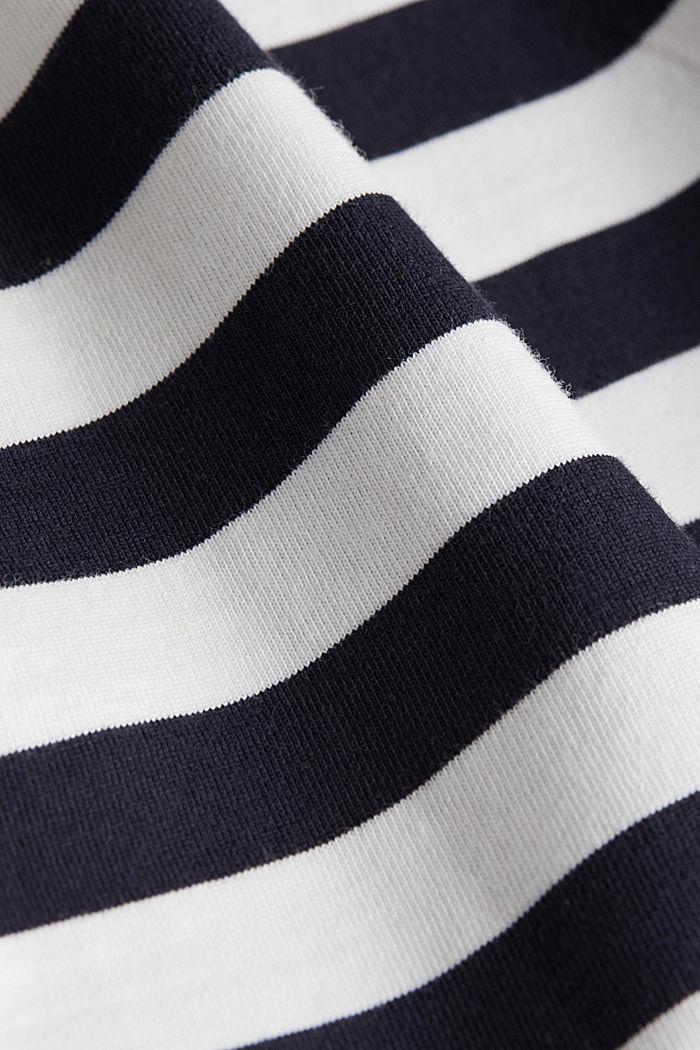Jersey T-shirt van 100% organic cotton, NAVY, detail image number 5