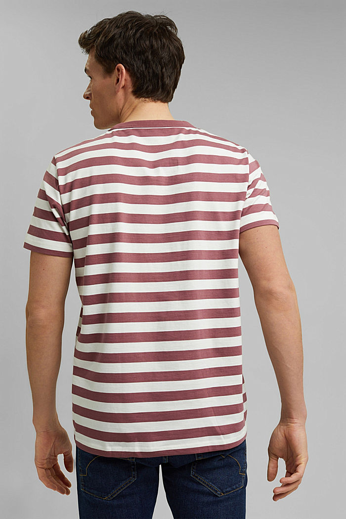 Jersey T-shirt made of 100% organic cotton, BERRY RED, detail image number 3
