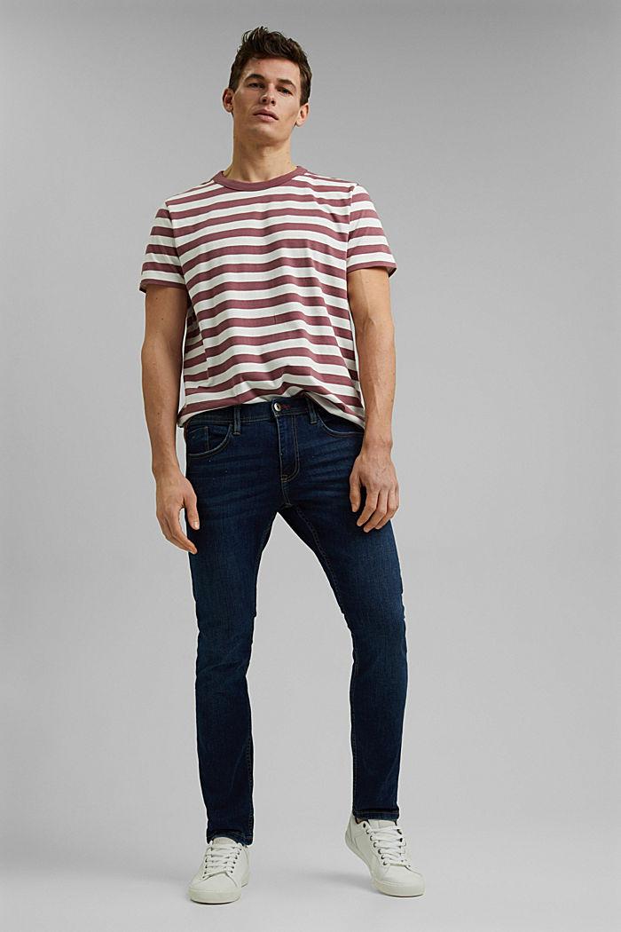 Tričko z žerzeje ze 100% bio bavlny, BERRY RED, detail image number 7