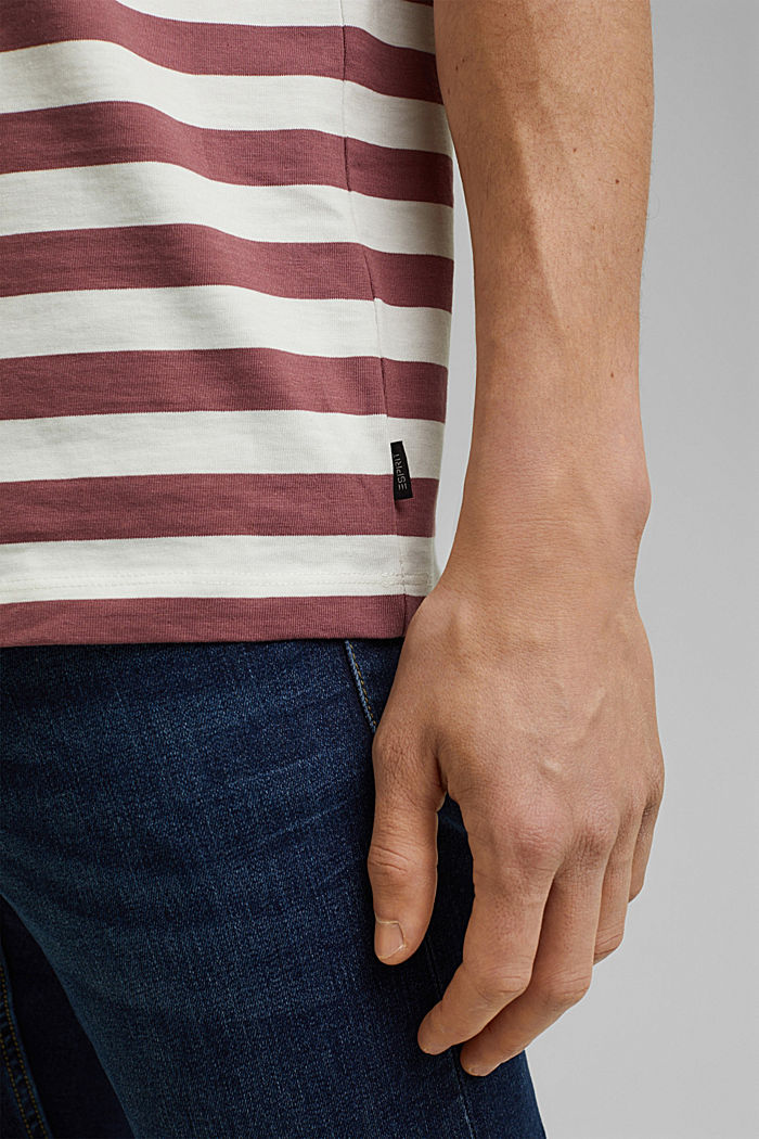 Tričko z žerzeje ze 100% bio bavlny, BERRY RED, detail image number 1