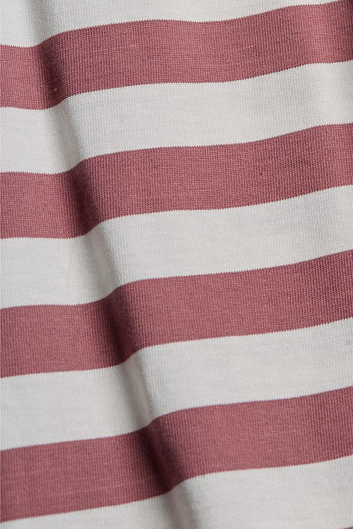 Tričko z žerzeje ze 100% bio bavlny, BERRY RED, detail image number 4