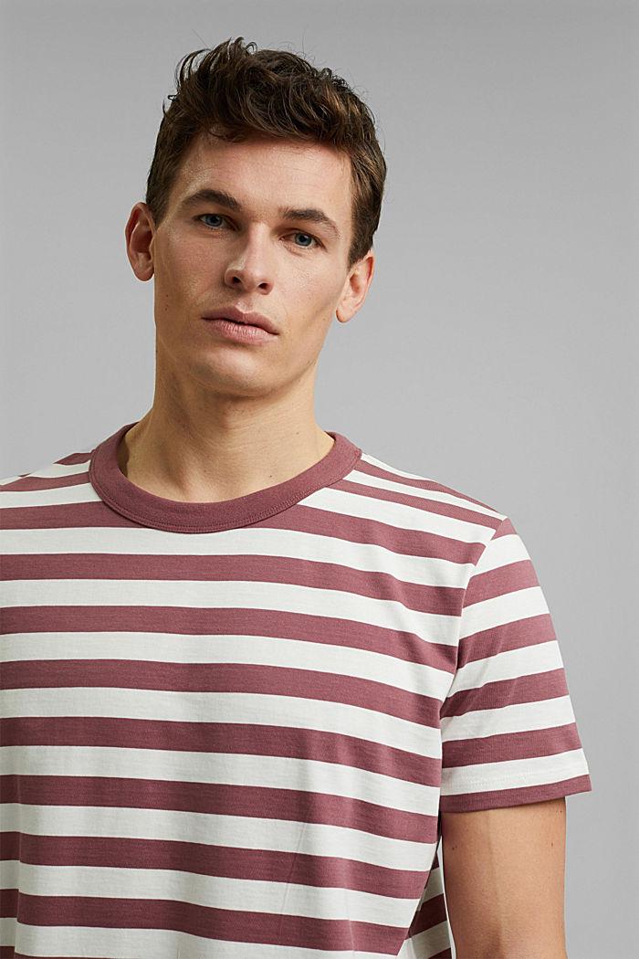 Tričko z žerzeje ze 100% bio bavlny, BERRY RED, detail image number 5