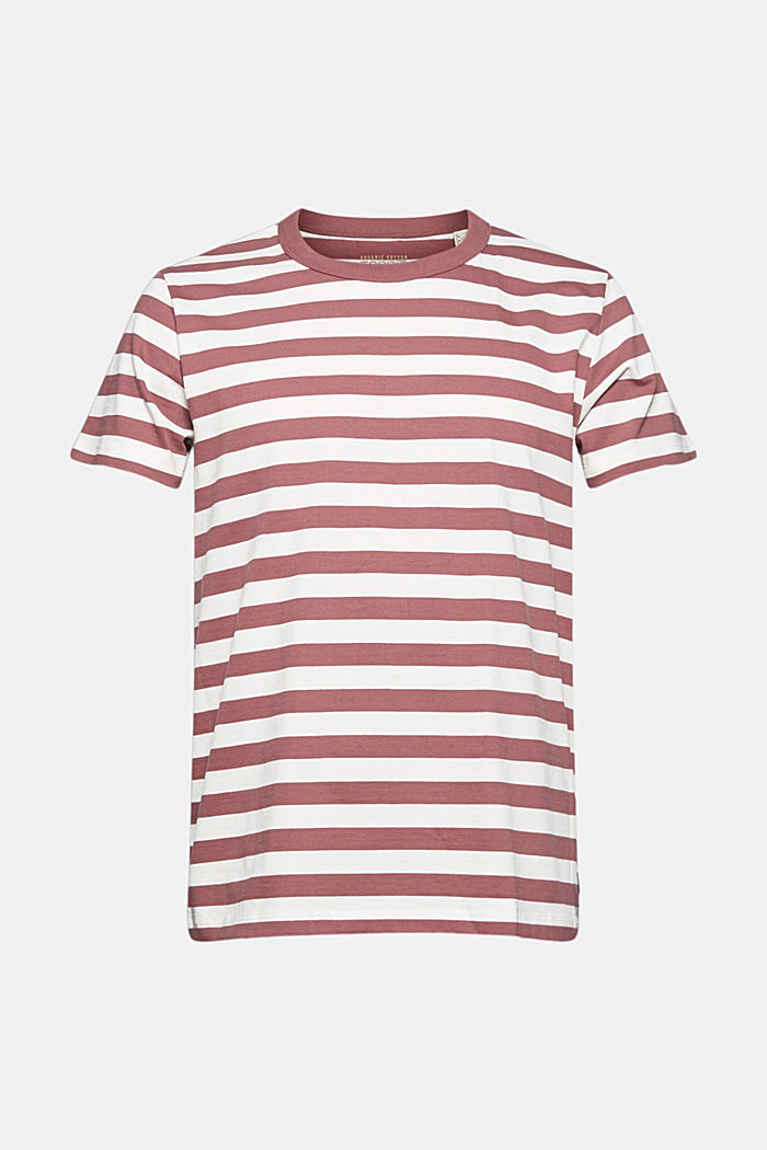 Jersey T-shirt made of 100% organic cotton, BERRY RED, detail image number 6