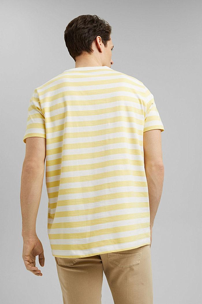 Jersey T-shirt made of 100% organic cotton, LIGHT YELLOW, detail image number 3