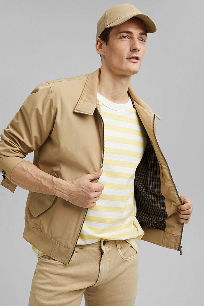 Jersey T-shirt made of 100% organic cotton, LIGHT YELLOW, detail image number 4