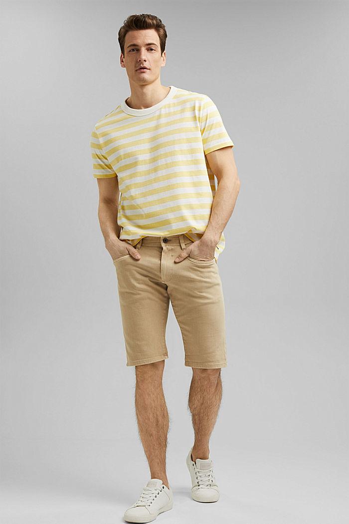 Jersey T-shirt made of 100% organic cotton, LIGHT YELLOW, detail image number 7