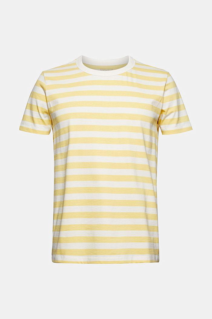 Jersey T-shirt made of 100% organic cotton, LIGHT YELLOW, detail image number 8