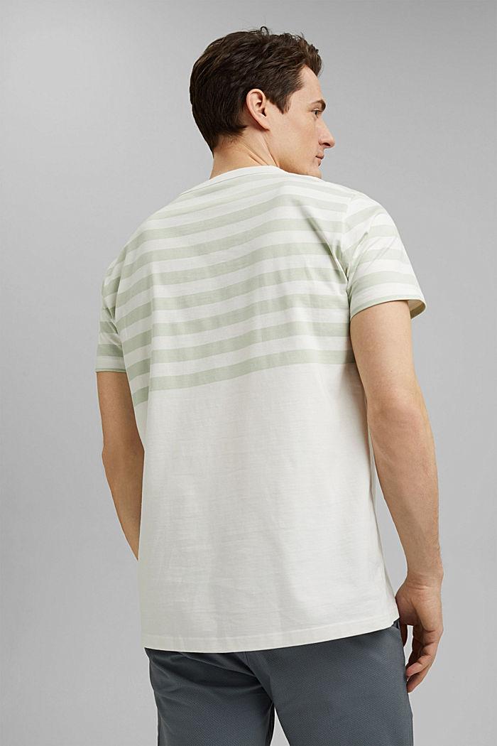 Jersey-Shirt aus 100% Organic Cotton, PASTEL GREEN, detail image number 3