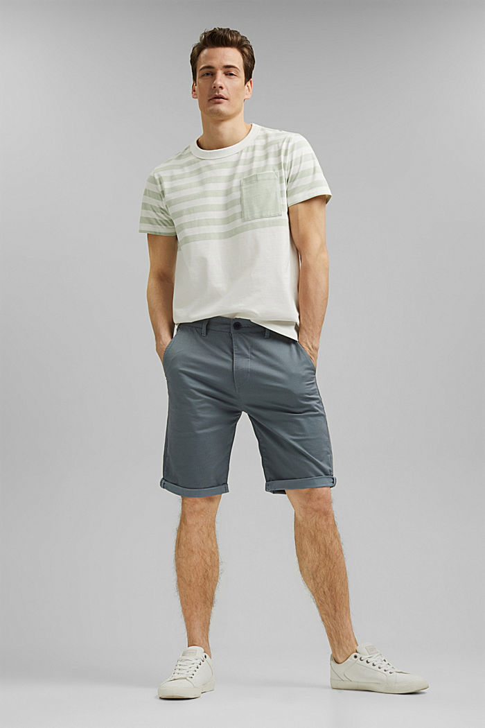 Jersey-Shirt aus 100% Organic Cotton, PASTEL GREEN, detail image number 2