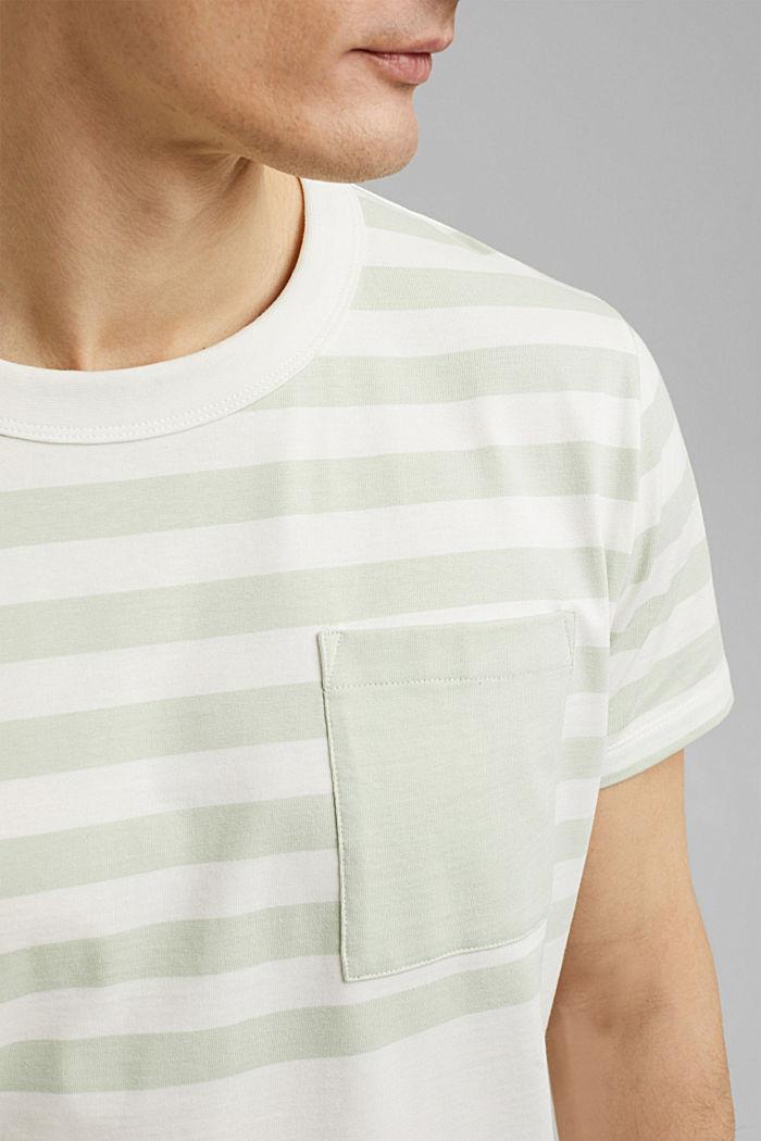Jersey-Shirt aus 100% Organic Cotton, PASTEL GREEN, detail image number 1
