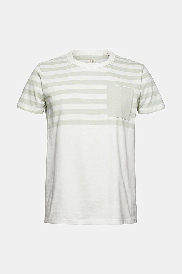 Jersey-Shirt aus 100% Organic Cotton, PASTEL GREEN, detail image number 6