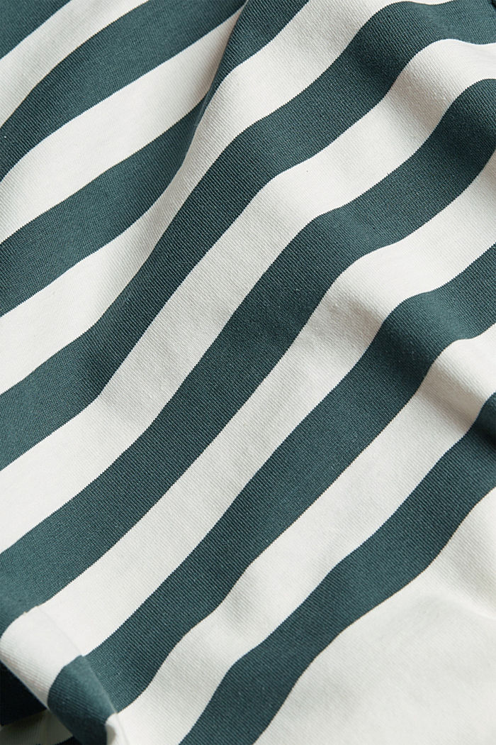 Jersey top made of 100% organic cotton, TEAL BLUE, detail image number 4