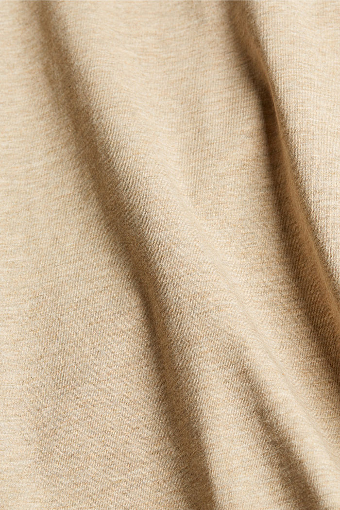 Jersey T-shirt made of 100% organic cotton, LIGHT BEIGE, detail image number 5