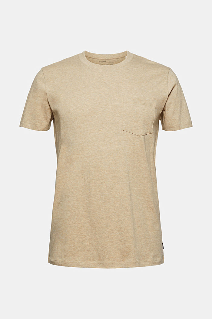 Jersey-T-Shirt aus 100% Organic Cotton