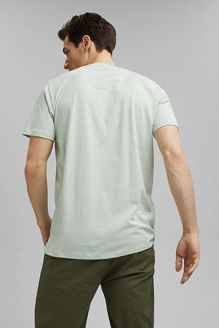 Jersey T-shirt made of 100% organic cotton, PASTEL GREEN, detail image number 3