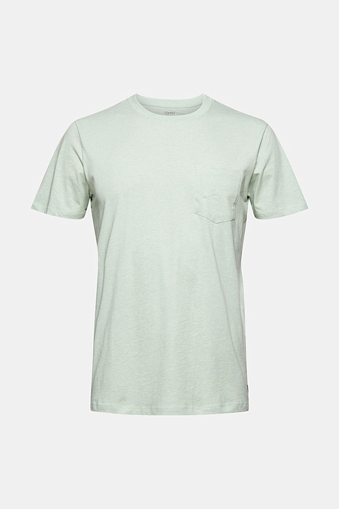 Jersey T-shirt made of 100% organic cotton, PASTEL GREEN, detail image number 7