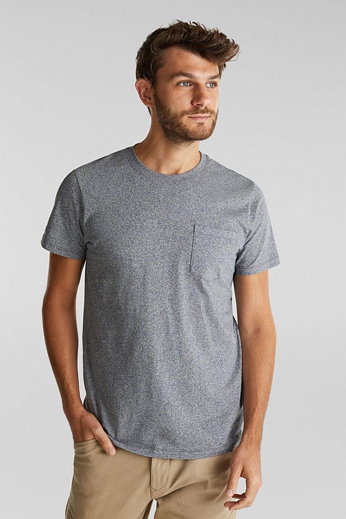 Jersey T-shirt van 100% organic cotton, NAVY, detail image number 0