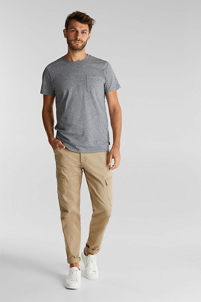 Jersey T-shirt van 100% organic cotton, NAVY, detail image number 2