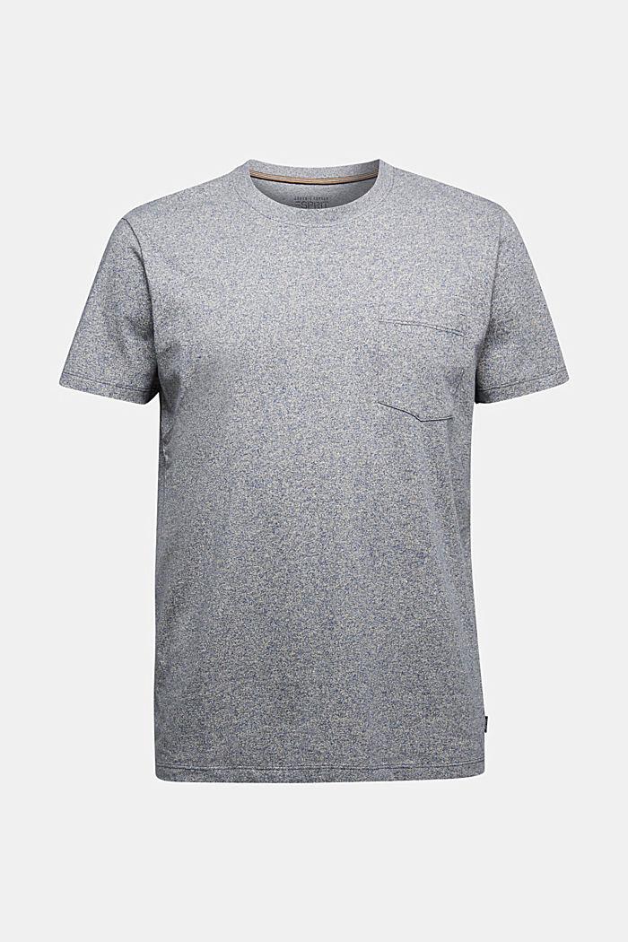 Jersey T-shirt van 100% organic cotton, NAVY, detail image number 6