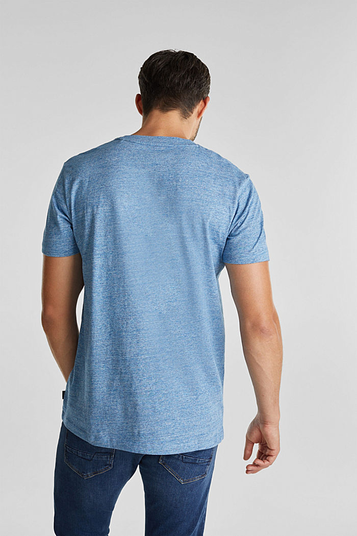Jersey top in 100% organic cotton, LIGHT BLUE, detail image number 3