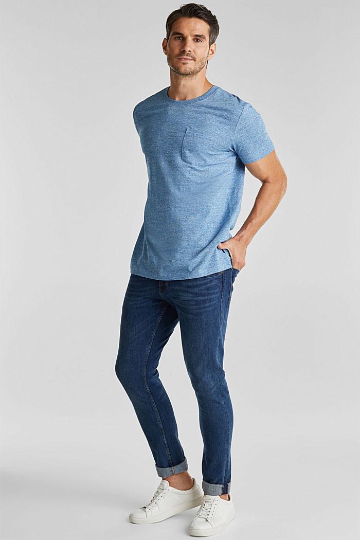 Jersey T-shirt made of 100% organic cotton, LIGHT BLUE, detail image number 2