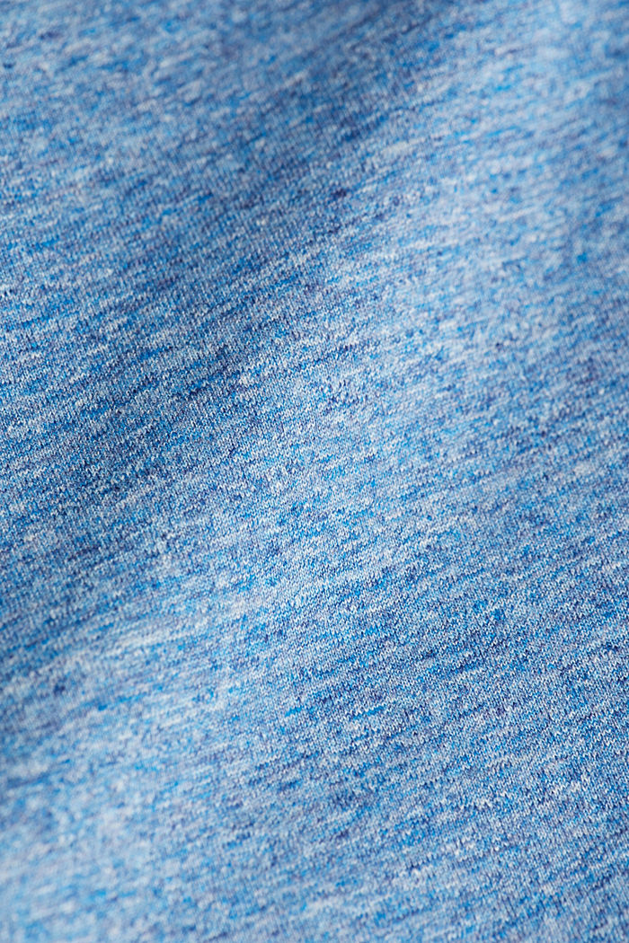 Jersey top in 100% organic cotton, LIGHT BLUE, detail image number 4