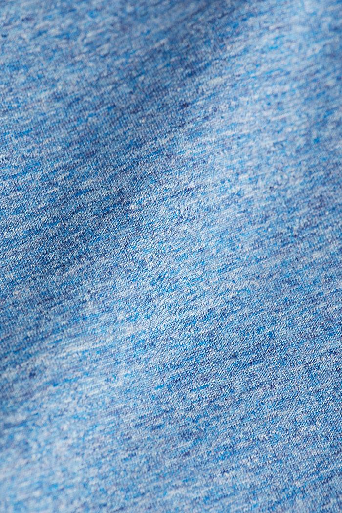 Jersey T-shirt made of 100% organic cotton, LIGHT BLUE, detail image number 4