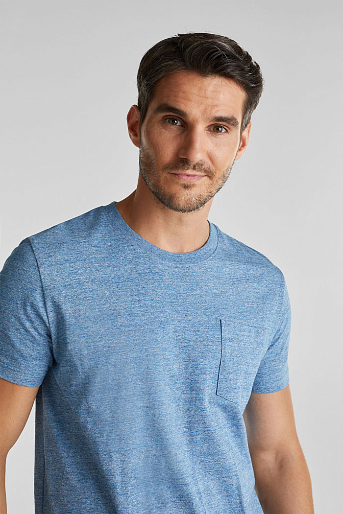 Jersey top in 100% organic cotton, LIGHT BLUE, detail image number 5