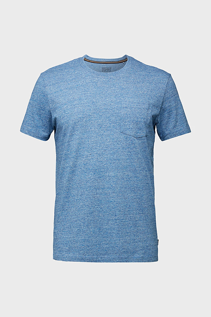 Jersey top in 100% organic cotton, LIGHT BLUE, detail image number 6